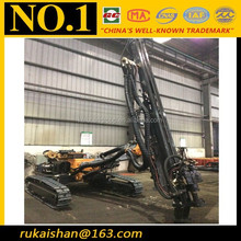 2015 New 152mm Hole Dia Big Torque down the hole hammer drill rig