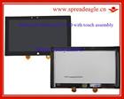 Lcd com toque assembléia para Microsoft surface RT LTL106AL01 tela led