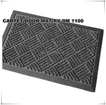 Entrance door mat with rubber backing/ Rubber Floor Mat