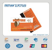 2015 Feitian Wangu PVC Laser Card for business rfid card