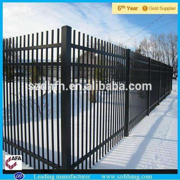 Baratos valla de hierro forjado prefabricados de acero de for Vallas de hierro para jardin