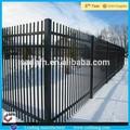 Baratos valla de hierro forjado/prefabricados de acero de la cerca/utilizado de vallas de madera para la venta