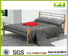 Single metal bed for bedroom furniture on alibaba