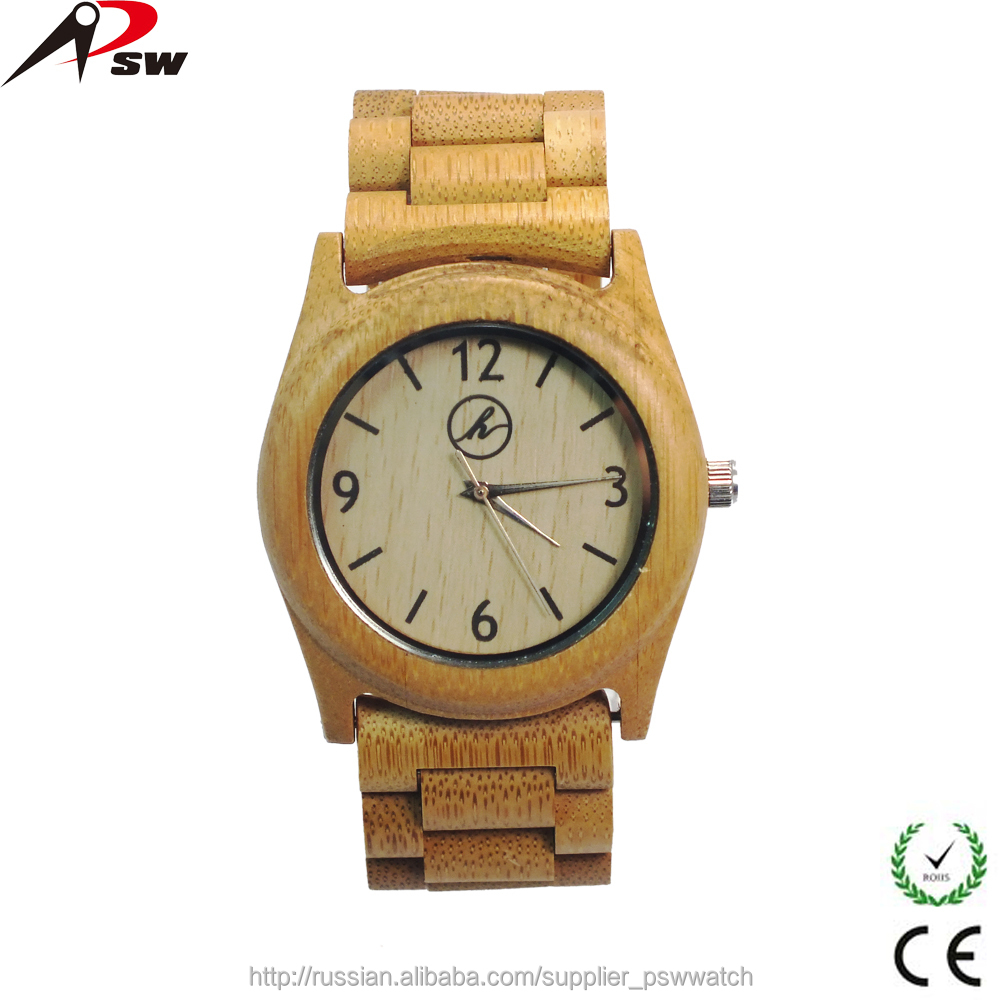 Shenzhen wooden&bamboo watch factory custom bamboo watches 2015