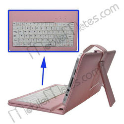 7 inch Leather Case with USB Keyboard for Tablet PC Gaming Keyboard