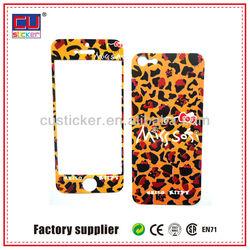 Fashion Decor PVC Phone Sticker Custom Mobile Sticker Skin