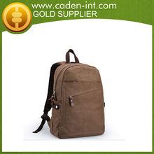 Personalizada mochila de lona de patrones, mochila de lona de piezas