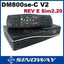 2015 Hot !! Cable TV Receiver dm800se-c wifi Sim 2.20 Rev E Motherboard V2 Version DM800HD SE-C V2 Cable Box Decoder