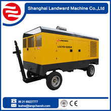Gold Supplier China diesel engine portable power station with air compressor