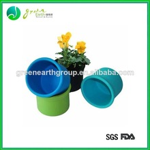 Venda Quente silicone decorativo vaso de flores do jardim