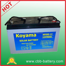 Best Quality 90ah 12V gel battery solar battery Solar panel battery