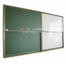 Popular School furniture Aluminum Frame Magnetic Mobile White and Green Board,Classroom Study Mobile White and Green Board