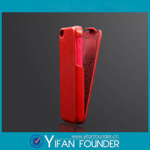 Blank PU Leather Mobile Phone Case for iphone5 Leather Phone Cover