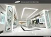 2015 new custom Samsung retail display store decoration