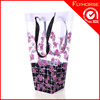 Stylish and economic plastic foldable shopping bag