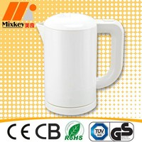 1L Mini Plastic cordless electric kettle CE