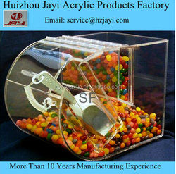 China manufacturer wholesale acrylic chewing gum packaging