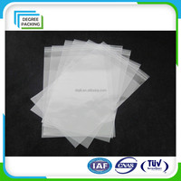 Clear Resealable Opp Polypropylene Bag Plastic Bag