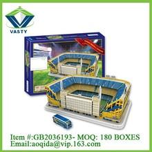 Estadio Alberto J. Armando plastic 3D puzzle jigsaw game for children