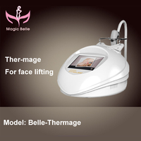 Hottest! Thermagic/Fractional RF beauty device for wrinkle removal machine