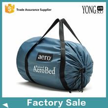 320D Nylon Barrel Duffel Bag Sport Bag For Promotion, large nylon drawstring shopping handbags