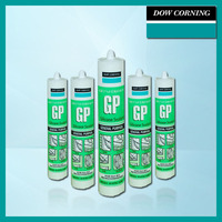 High performance acetic silicon sealant for glass window