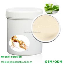 ODM OEM Beauty Organic Natural Herbal Aloe Vera Anti Acne Face Treatment Cream