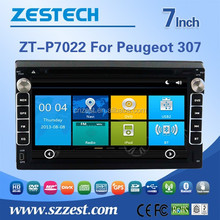 For new peugeot 307 car radio with canbus/GPS/Bluetooth/Radio/SWC/Digital TV/3G internet/WIFI/ATV/DVR