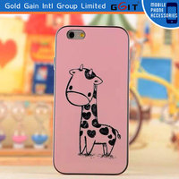 Wholesale cute cartoon character case for iPhone 6 back cover case, for iPhone 6 pc case with cartoon character
