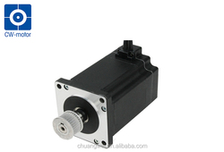 stepper motor with belt pulley nema 34 step motor 1.8 degree for graving machine
