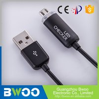 Preferential Price Ce Certified Usb Cable With Charging Light