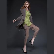 2015 Plush Mandarin Collar Long Sleeve Fashion Pleated Women's Coat For European Sex Young Open Women