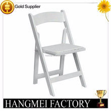 Used Wood Folding Chair/White Wood Folding Chair