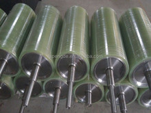 acid and alkali resistant rubber casting roller