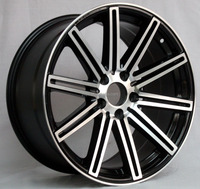 Chinese supplier aftermarket concave cv4 5x120 alloy wheels hot sale