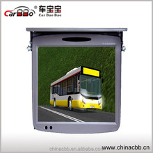 19'' car/bus mounted roof TV and car tft lcd headrest monitor