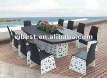 10 persons table and chair new design
