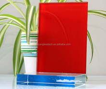 Jinyao paint glasses lacquered glass for kitchen cabinets colors optional
