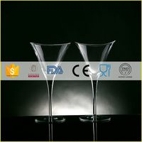 Quality most popular flashing goblets cocktail glass