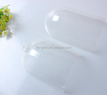 wholesale customized display flower glass bell dome,glass dome for perfume