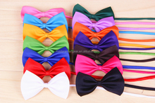 Wholesale Multi-colors Pet Tie Dog Bows Pet Accessory PT010