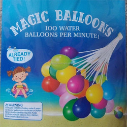 magic balloons one minute bunch into o balloons water bomb enjoy cool summer