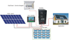 Whole house off grid 10KW home solar power system solar home system