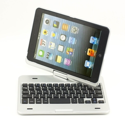 Factory Price 9.7 Inch Water and Dustproof Built - in Rotatable Wireless Bluetooth Keyboar Case for iPad Air