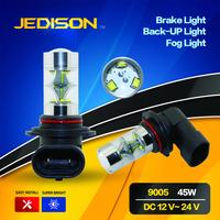 45w 9005 9006 led daytime running lamp DRL 9006 led fog lamp for car.