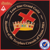 Decoration masonic emblem for car
