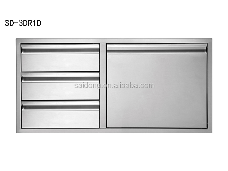Stainless Steel Outdoor Kitchen Component Door Cabinet