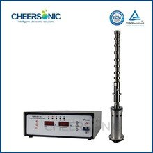 Ultrasonic jatropha oil for biodiesel storage tanks
