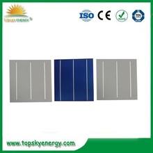 polycrystalline silicon solar cell price / solar cell 6*6 / single crystal silicon solar cells