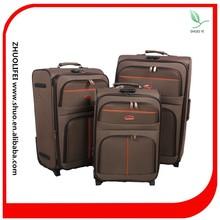 2015 baoding 3 wheel fancy cheap travel zone luggage for men